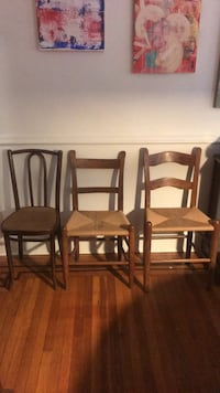 3 bistro chairs Baltimore, 21211