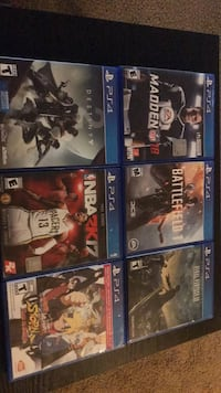 PS4 Games for sale! Tumwater, 98512