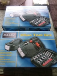 black and gray DEWALT cordless power drill box TORONTO