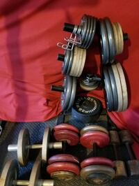 Plate weights - .50 / lb.