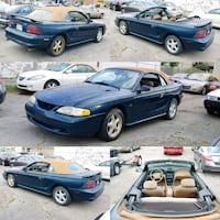 Stock 1994 Ford Mustang GT Convertible 5.0 V8