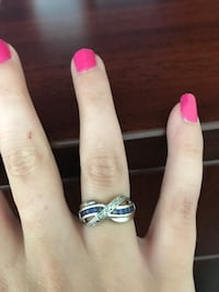 Sapphire and Silver Ring. Size 6 Kingston, K7M 0A9