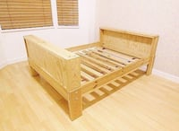 IKEA VIKARE bed toddler bed turns into full twin bed. Mattress included Laval, H7Y 0A3