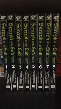 Seraph of the End vol 1-8 Tacoma, 98407