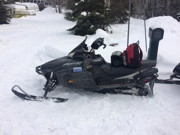 2003 Yamaha RX 1 Snowmobile With 2019 Trail Pass Ready To Ride