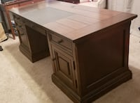 Executive Office Desk with matching Bookcase Annandale