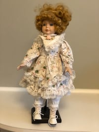Collection of Porcelain Dolls