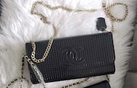 Chanel black clutch purse  Richmond Hill, L4C 0Z5