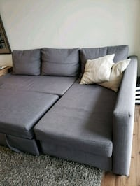 Grey sectional double bed sofa Gaithersburg