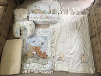 Classic whinnie the pooh nursery bedding