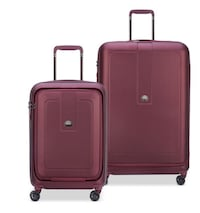 Delsey Black Cherry Suit case Set CHICAGO