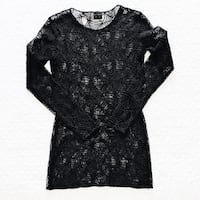 MOSCHINO black spider net t-shirt  Milano