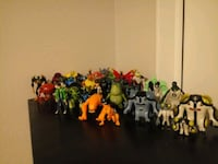 Ben 10 ultimate alien force and ben 10 toys  West Valley City, 84120