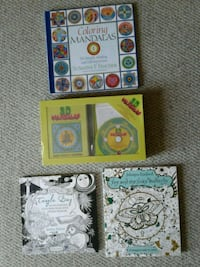 3D mandalas and adult coloring books  Westminster, 21158