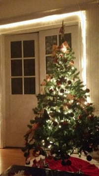 6 foot CHRISTMAS TREE with Pine Cones attached Queens, 11385