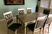NEW! 7 pc Silver Finish Wood • 0% interest Las Vegas