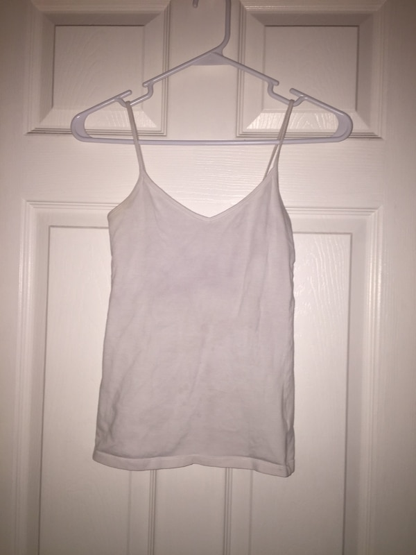 Women's White Camisole (Forever 21, Size S)