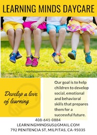 LEARNING MINDS DAYCARE IN MILPITAS