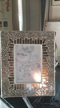 Gold and silver wooden photo frame Toronto, M6M 1W6