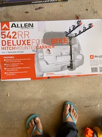 Allen Sports Deluxe 4-Bike Hitch Mount Rack Gainesville, 20155