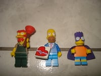 RETIRED Lego Simpson's Minifigures! Edmonton