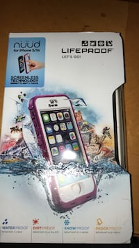 Life proof frē & nüüd for iPhone 5/5s Bumpass, 23024