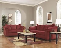 Darcy Salsa Living Room Set by Ashley | AS-75001 Houston
