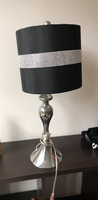 black and gray table lamp Silver Spring, 20902