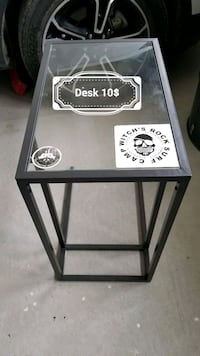 black and white wooden side table Brampton, L6R
