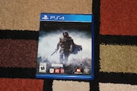 Middle Earth Shadow of Mordor PS4 Burnaby