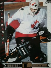Official 5x7 rookie card of  R. Luongo 8 available Vancouver, V6A 1N5