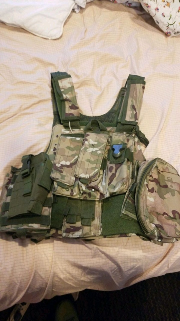 Paintball/Airsoft tactical vest