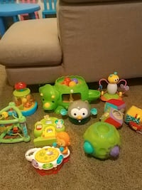 toddler's assorted plastic toys 531 km