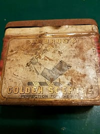 TIN CAN  SURBRUG'S  GOLDEN SCEP TRE Easton, 18045