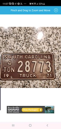 south Carolina license plate  West Valley City
