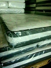 Queen 14'Thick 2-sided Mattress And Box Spring Hyattsville, 20784
