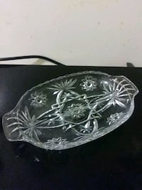 clear cut-glass bowl Chicago, 60616