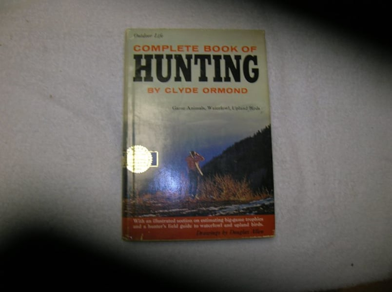 Four (4) Books on Fishing/Hunting  ac791901-247a-4650-86e9-29ced733df36