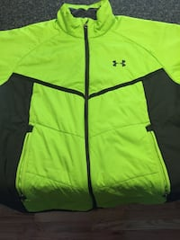 green and black Adidas zip-up jacket Franklinville, 08322