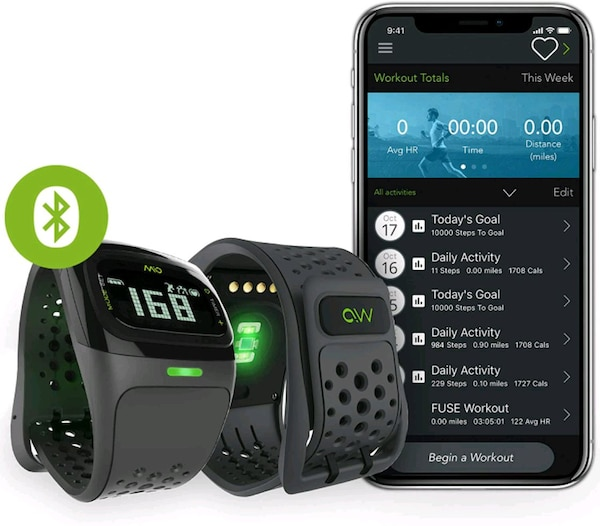 Mio Alpha Heartrate Monitor Watch 1