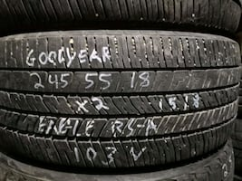 245/55R18 GOODYEAR CHECK OUT MY OTHER ADS