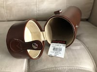 Leather wine bottle holder Oakville, L6H 2V6
