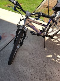 blue and gray full-suspension bike Middlesex, 08846