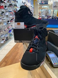 Air Jordan 6 Black Infrared 2019 Size 11 Silver Spring, 20902