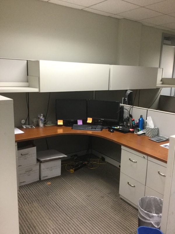 FIVE (5) Cubicles for GREAT DEAL! 525dec78-e9cc-431f-8173-425839997c85