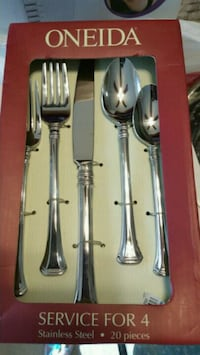Oneida Apollonia 20 pc Flatware Set Hyattsville, 20783