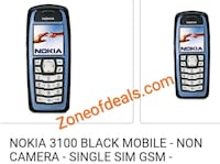 Nokia 3100 Refurbished Mobile Phone Available Delhi, 110007