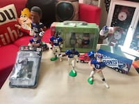 NY Giants Fans Collection figures,truck and watch pack Paterson, 07501