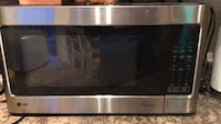 black and gray microwave oven Edmonton, T5P 3R3
