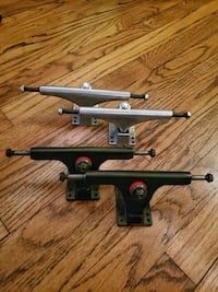Longboard Skateboard Wheels & Trucks (Seismic, Caliber, Paris) - new